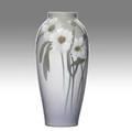 Sara sax rookwood iris glaze vase 1905 flame markvartists cipher801bbw 10 x 4 12