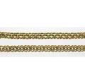 Gold link necklace and bracelet 14k 15 necklace 7 12 bracelet solid links ca 1955 2102 gs gw