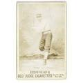 Dogs head and old judge cigarettes baseball cabinet card for harry stovey left fielder for the philadelphia athletics 1889