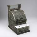 National cash register early 20th c model 313 in nickel plated brass 17