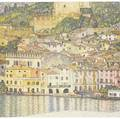 Gustav klimt austrian 18621918 malcesine on lake garda no 7 collotype 12 18 x 12 18 image 19 x 17 78 sheet provenance private collection rhode island