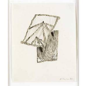 Al taylor american 19491999 untitled 1987 ink and pencil on paper framed signed and dated 11 x 8 58 sheet provenance private collection san francisco