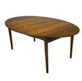 Finn juhl judas rosewood extension dining table inlaid with silver buttons illums bohligus metal tag 28 x 71 x 46 34
