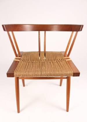 George Nakashima Modern Grass Seated Chair