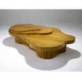 Th robsjohngibbings  widdicomb mesa freeform coffee table widdicomb label stamped sorrell and numbers 17 14 x 72 x 48