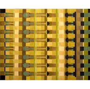 David shaw nicholls carlisle handknotted carpet in silk and wool nicholls fabric label 117 14 x 96 14