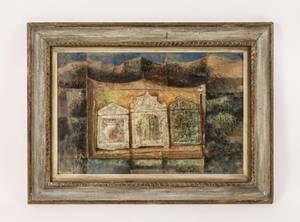 George Beattie Mid Century Oil Painting Signed
