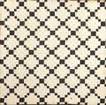 Patchwork quilt in the irish chain pattern mid 19th c some condition issues 90 sq