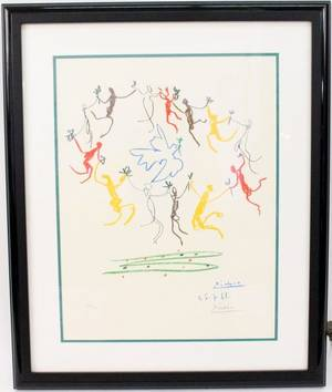 Pablo Picasso The Dance of Youth Lith Signed