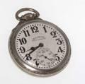Illinois bunn special pocket watch railroad grade 21 jewels 14 wg face motor barrel 60 hours serial  5282442 model  173 2 dia