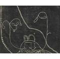 Martin puryear american b 1941 becky from toomers cane 2000 woodcut framed signed titled and numbered trial proof 12 x 13 34 sight provenance private collection new york