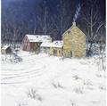 Christopher g willett american b 1958 home at last forbotasic farm solburybuckingham bucks county pa oil on canvas framed signed 36 x 36 provenance private collection lambertville