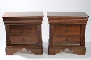 Pair of Kincaid Furniture Bedstands