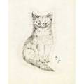 Leonard tsugoharu foujita frenchjapanese 18861968 untitled from a book of cats 1930 sixteen lithographs on vellum 12 34 x 9 34 sheet each publisher covicifriede new york provenance
