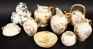 Nine Piece Royal Worcester Group