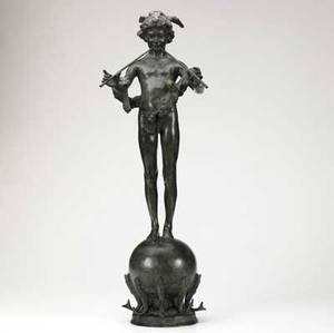 Frederick william macmonnies american 18631937 pan of rohallion 1890 bronze signed and dated frederick macmonnies  paris 1890 and titled 30 18 high provenance private collection new yo