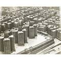 Charles rotkin american 19162004 three gelatin silver print photographs 1962 untitled aerial view of housing on henry hudson parkway north of gw bridge studio stamp view of midtown