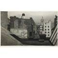 Armin landeck american 19051984 rooftops 14th st 1946 drypoint and engraving signed from an edition of 100 8 12 x 14 plate 12 12 x 18 sheet literature kraeft 97 provenance g