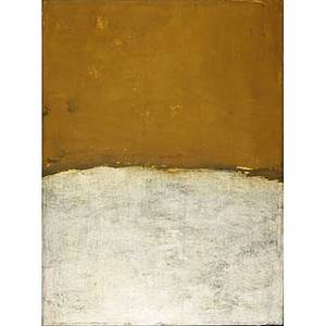 Bill jensen american b 1945 have and have not 1998 oil on linen signed dated and titled 53 x 40 provenance mary boone gallery new york label on verso private collection new york