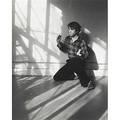 William wegman american b 1943 cats cradle  string game 197679 altered gelatin silver print framed 13 58 x 10 58 sight exhibition wegmanss world walker art center minneapolis