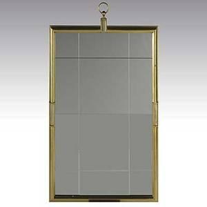 Tommi parzinger parzinger originals fine gilt wood framed mirror unmarked 40 x 26 14 x 1 34