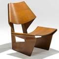 Grete jalk p jeppesens mobelfabrik as laminated teak chair 1960s branded p jeppesens danish control 29 34 x 25 x 28