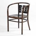 Otto wagner thonet laminated and bent beechwood arm chair austria ca 1900 32 x 21 12 x 22