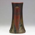 Elizabeth lincoln rookwood decorated mat arts  crafts floral pattern 1920 flame markxx1358cvlnl 11 14 x 6