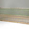 Architectural decoration pair of stick and ball design room dividers 19th20th c 19 12
