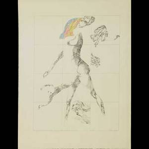 Three contemporary prints jacob landau american 19172001 lithograph in colors signed titled and numbered 34 x 26 peter paone american b 1936 etching of self portrait signed and dated