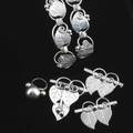 Walter meyer workshop heart ivy silver jewelry jensen usa design together with a bead ring two bracelets and three brooches 35 ot