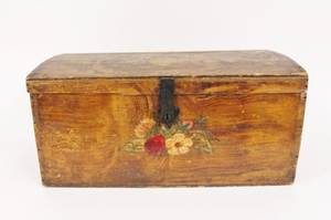 HandPainted Floral Safe Box
