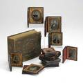 Early photography fifty pieces in frames and photo albums consisting of daguerreotypes tintypes cdvs and prints 19th c