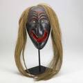 Native american iroquois false face mask 10 14 x 6 14