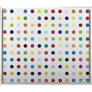 Damien hirst british b 1965 lycergic acid diethylamide lsd 2000 lambda print on gloss fuji archive framed signed and numbered 93300 42 x 49 12 sheet publisher eyestorm london pr