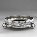 Archibald knox liberty  co pewter tudric rose bowl stamped 4 tudric 0230 3 14 x 12