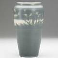 Et hurley rookwood banded scenic vellum vase 1913 flame markxiii189dveth 9 14 x 5