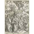 Albert durer german 14711528 angles restraining the four winds from the apocalypse of st john 149798 etching 15 12 x 11 18 sheet provenance collection of dr e van rath university