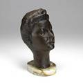 William zorach american 18871966 untitled 1943 bronze signed and dated 11 34 high 13 high with base provenance private collection new jersey