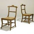 After jean michel frank pair of valet chairs unmarked 37 12 x 18 x 22 12