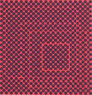 Victor vasarely hungarianfrench 19081997 two screenprints framed separately tauceti 6f signed titled and numbered 163250 26 x 26 sight untitled signed and numbered 269300 24 38