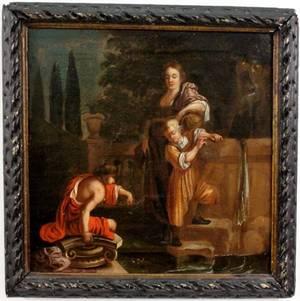 Italian 19th Century Figural Painting
