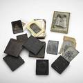 19th c photography approx fiftyfive daguerreotypes tin types and cdvs include several bathing beauties and two union cases