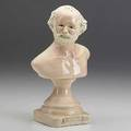 Robert arneson ceramic trophy bust of the artist 1979 stamped arneson 1979 7 34 x 4 12 x 3 14