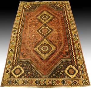 Hand Woven Persian Qashaghi Rug