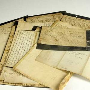 18th  19th c documents thirteen pieces dated 17271869 include deeds and documents pertaining to durham town and new york state