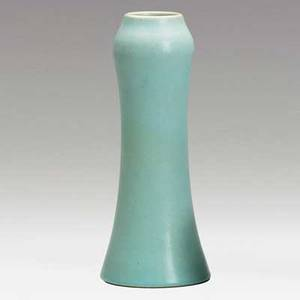 Van briggle vessel in turquoise glaze 1906 provenance van briggle pottery marked aa van briggle 1906 10 and 4
