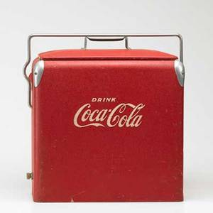 Realized price for Vintage coca cola cooler