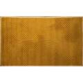 David shaw nicholls handknotted geometric wool carpet in gold and green 159 x 97