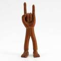 Pedro friedeberg hand foot mexican mahogany sculpture signed pedro friedeberg 6 23 x 2 14 x 2 34